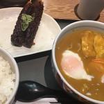 88895792 - カレーきしめんセットB  (´∀`)/ やはりコレ 安定                       食べログ前から 幾度も食べたなぁ