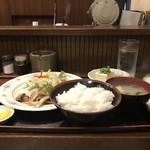 千穂 - 牛カルビの青じそおろし定食
