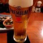 88896011 - 生ビール(プレモル)680円
