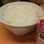 らーめん 五郎松 - ライス・のり・たまごセット200円のライス