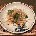 オーパス ワン - 鯛の中華サラダ(1人分)