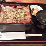 昇家 - 厳選 和牛 カルビ重980円(税込)