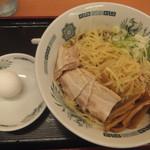 日高屋 - 料理写真:油そば570円、大盛70円はクーポンで無料(2018.6.9)