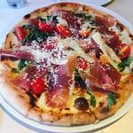 Arancino di Mare - 生ハムのピザ