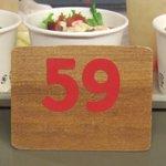 J.S. BURGERS CAFE - 番号札です。