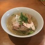 中華そば Ryo - ニボ塩鶏そば