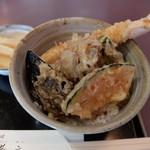 友蕎庵 - ミニ天丼