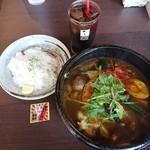 88903107 - 「豚角煮と14種の野菜カレー」1,080円