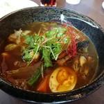 88903109 - 「豚角煮と14種の野菜カレー」1,080円