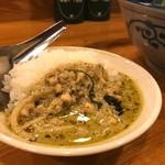 タイ屋台料理ヌードル&ライス TUKTUK - ミニグリーンカレー