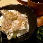 88903542 - クリームチーズ豆腐。めっちゃ美味い。