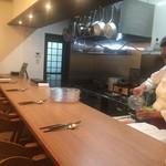 イタリア料理とワイン MARE VIGNA - 内観