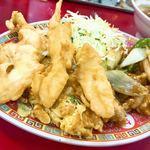 大王 - 日替りランチ 鶏肉の味噌炒め