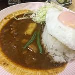 リッチなカレーの店 アサノ - エッグカレー
