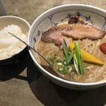 Namaenonairamenya - 濃厚らーめん チャーシュー 並+白飯