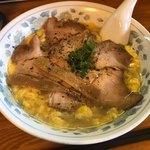 らーめん臺大 - 塩くもたまチャーシュー麺 980円 麺大盛 +110円