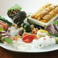 北浜 いしころ - 季節の魚をメインに、地鶏、和牛などもご提供。