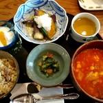 茶亭 椿 - 数量限定 手作りランチセット(1200円)