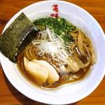 麺や 亀陣 - 鶏そば醤油_750円