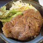 牛や - カルビ丼(690円)