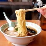 千石や - 千石や@鶴岡 よくばりメンの麺