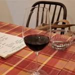 ビストロ ラ コケット - 赤ワイン。