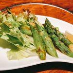 日本料理 花遊膳 - アスパラバター