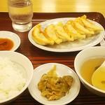 88918377 - 焼き餃子と小ライス409円