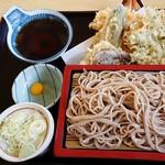 ごまそば 一茶庵 - 料理写真:天盛り 1,150円