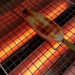 松島蒲鉾本舗 - 焼けてきました