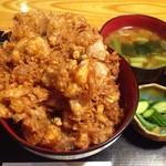 大黒家 - かき揚げ丼 ¥1,780