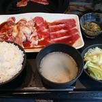厳選焼肉ニクノトリコ - 特盛焼肉ランチ1300円