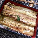 淡波家 - 蒸しあなご重♡白身魚食べてるみたいにふわっふわ!♡食べるべき!