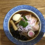溝ノ百合 - 煮干しそば 醤油