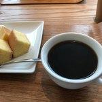 ラ コリーナ近江八幡 - ホットコーヒーでいただきました(^▽^)o