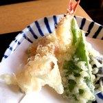蕎麦処 天和庵 - 天ぷら