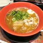 麺屋 青空  - 煮干白醤油ラーメン \720
