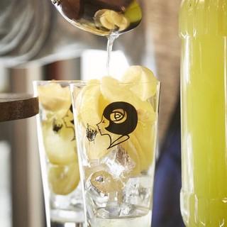 無農薬レモンを使用したリモンチェッロサワー♪