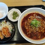 山来亭 - 料理写真:山来らーめん定食(ごはんなし) ¥790