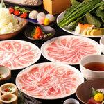 京都・烏丸つゆしゃぶ CHIRIRI - 自慢の和風つゆで食す豚しゃぶは絶品っ♪