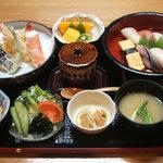 天祐丸 - 天寿司膳 1900円(税込1995円)