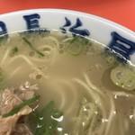 元祖長浜屋 - スープ