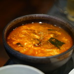 焼肉ハウス - ユッケジャンスープ