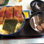 常盤 - ビフカツ丼800円