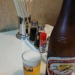 味さかえ - ビール(税込み550円)