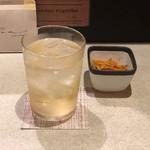 そそそ - オリーブ茶ハイ(580円)