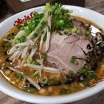 Misoyahachiroushouten - 味噌ラーメン 780円 ガツンと濃厚味噌スープ