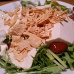 88933852 - 湯葉とおぼろ豆腐のサラダ。