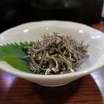 炭火焼 みや澤 - キビナゴ山椒