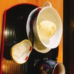 おいしいいっぷく鏑木 - 加賀きゅうりのアイスクリーム